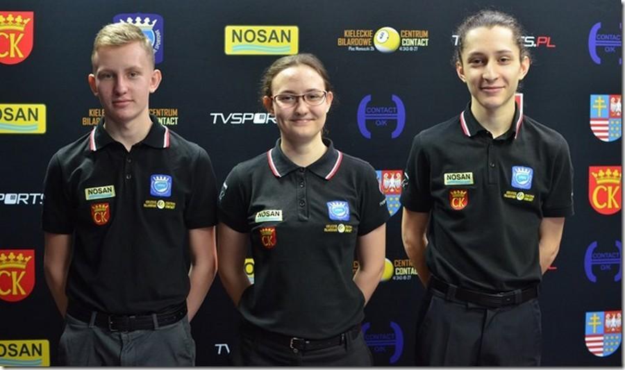Czterech przedstawicieli regionu w kadrze juniorów w Bilard